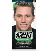 JUST FOR MEN - Haarfarbe in Shampooform: Hellbraun H25