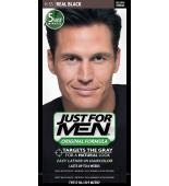 JUST FOR MEN - Haarfarbe in Shampooform: Schwarz H55